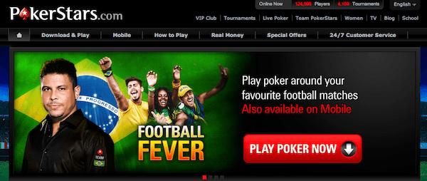 Pokerstars website