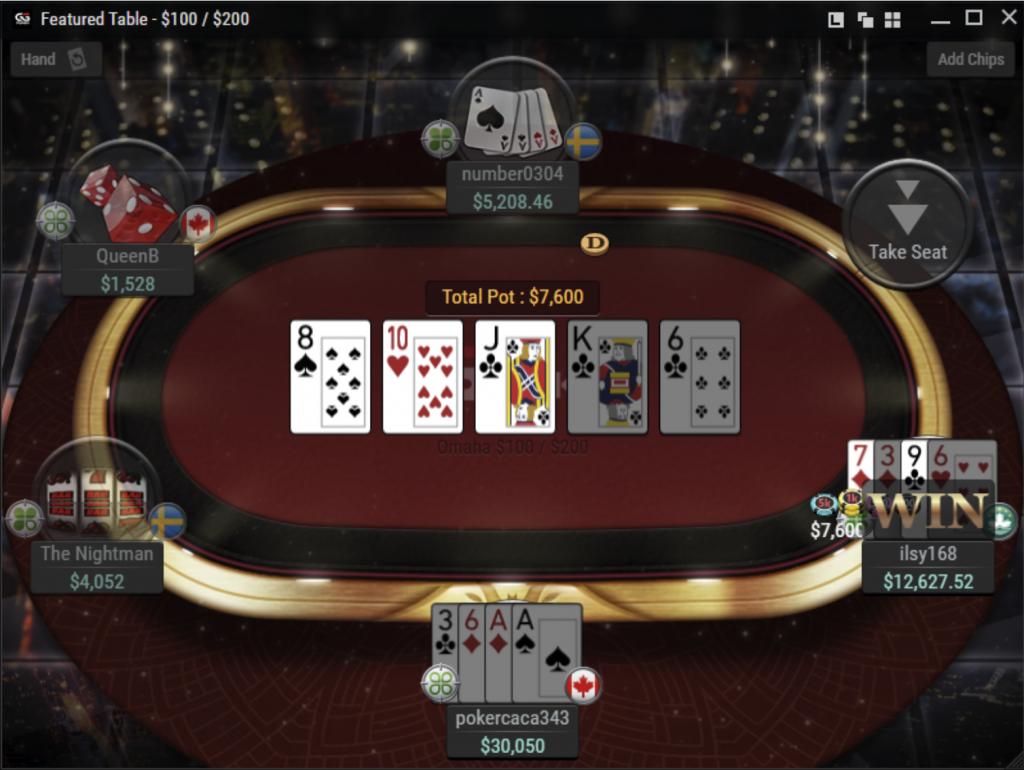 GGPoker poker games