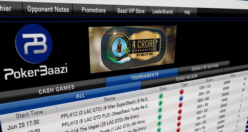 PokerBaazi software